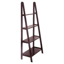 58 Leaning Bookcase by Winsome