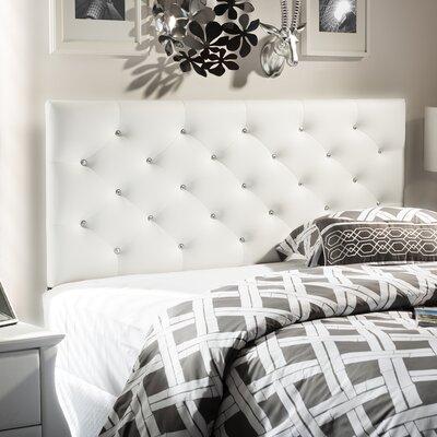 baxton studio viviana upholstered panel headboard