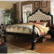 Liege Eastern King Upholstered Panel Bed by Eastern Legends