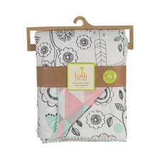 Sparrow Print Quilted Comforter