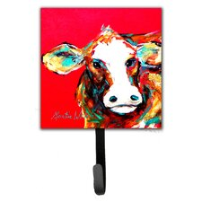 Cow Caught Handed Wall Hook by Caroline's Treasures