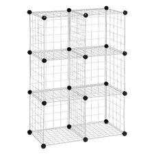 Modular Mesh Storage Cube Shelving Unit (Set of 12) by Honey Can Do