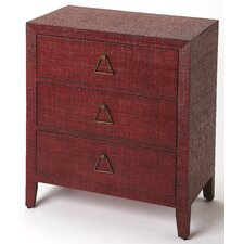 Candelaria 3 Drawer Accent Chest by Bloomsbury Market