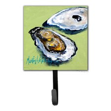 Oyster Two Shells Leash Holder and Key Hook by Caroline's Treasures