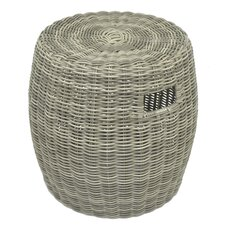 Rattan Accent Stool by Three Hands Co.