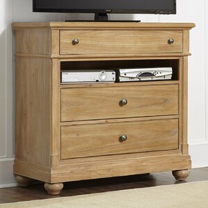 Bleau 3 Drawer Media Chest by Lark Manor