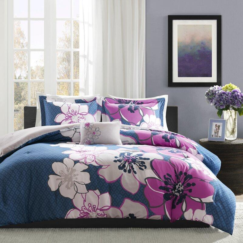 latitude run kieran comforter set & reviews | wayfair