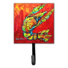 Crawfish Hot Craw Leash Holder and Wall Hook by Caroline's Treasures