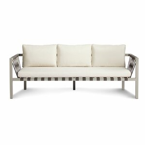 Jibe 3 Seat Outdoor Sofa With Cushions