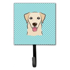 Checkerboard Retriever Wall Hook by Caroline's Treasures