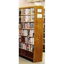 Double Face Shelf 96 Standard Bookcase by W.C. Heller