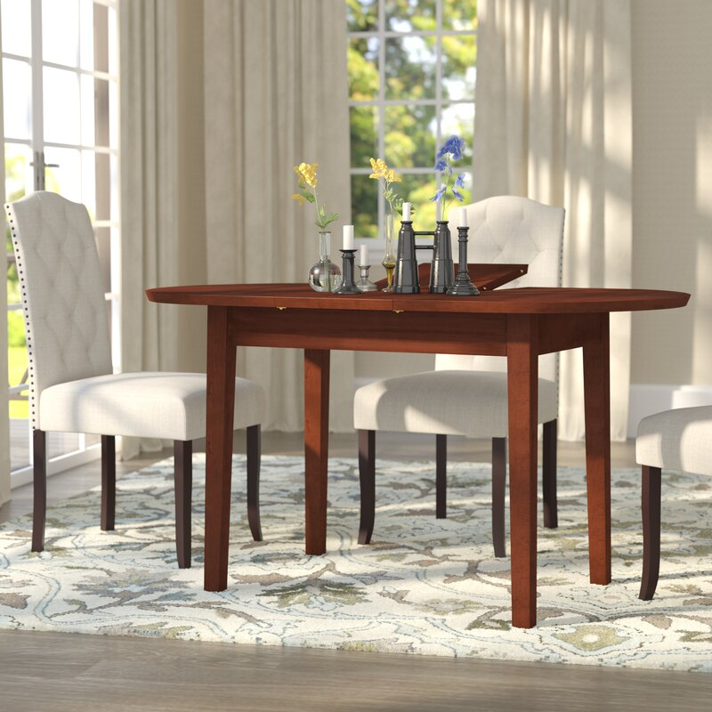 andover mills antora butterfly extendable dining table & reviews