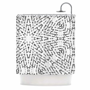 'Letter of Advice' Shower Curtain East Urban Home