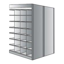 87 H 7 Shelf Shelving Unit Add-on by Hallowell