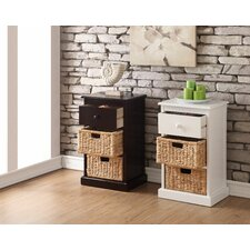 Carter 1 Drawer 2 Basket Storage Chest by Charlton Home