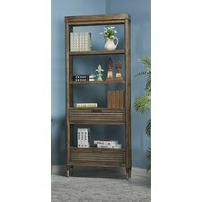 Firenze 82 Etagere Bookcase by Turnkey Products LLC
