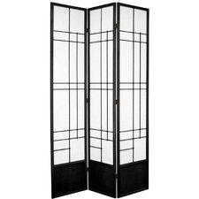 83.5 x 43 Eudes Shoji 3 Panel Room Divider by Oriental Furniture