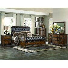 Brompton Lane Sleigh Customizable Bedroom Set by Homelegance