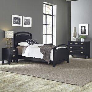 Prescott Panel 3 Piece Bedroom Set