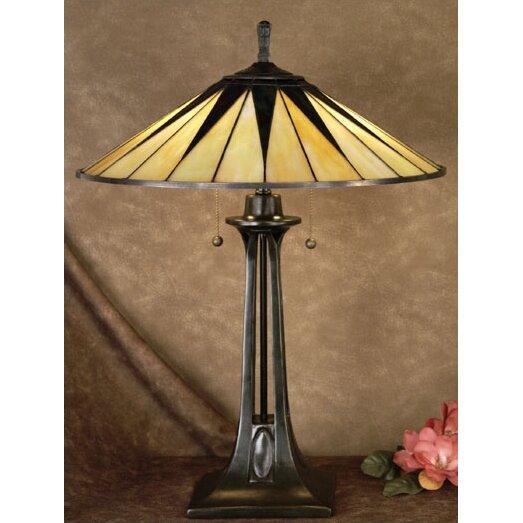 Quoizel Gotham Tiffany 25 Quot Table Lamp Amp Reviews Wayfair