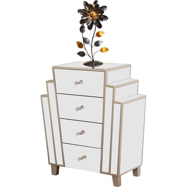Eileen Marquee Art Decor Cabinet & Reviews