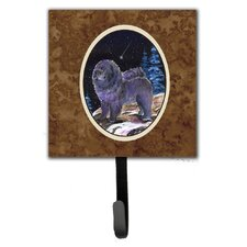 Starry Night Chow Chow Leash Holder and Wall Hook by Caroline's Treasures