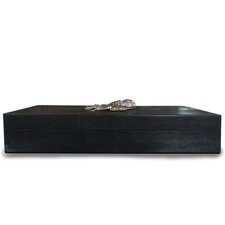 Octopus Shagreen Accessory Box by Rosecliff Heights