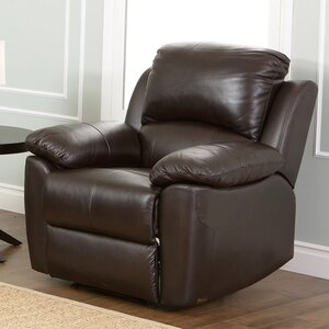 Blackmoor Leather Recliner by Darby Home Co