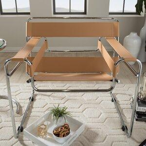 Somnus Bonded Leather Armchair by Latitude Run