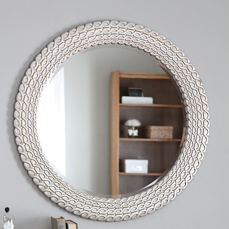 Wayfair Wall Mirrors world menagerie wall mirror & reviews | wayfair