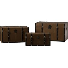Johanson 3 Piece Riley Trunk Set by Three Posts