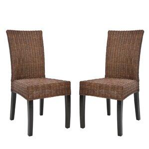 Mia Wicker Side Chair Set Of 2