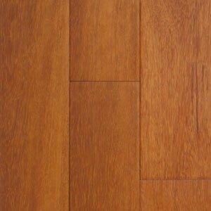 "hawa exotic 3-5/8"" solid kempas hardwood flooring in natural"