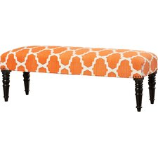 Lyon Upholstered Bedroom Bench by Bungalow Rose
