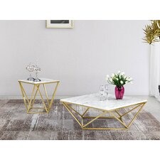 Robeson 2 Piece Coffee Table Set by Willa Arlo Interiors