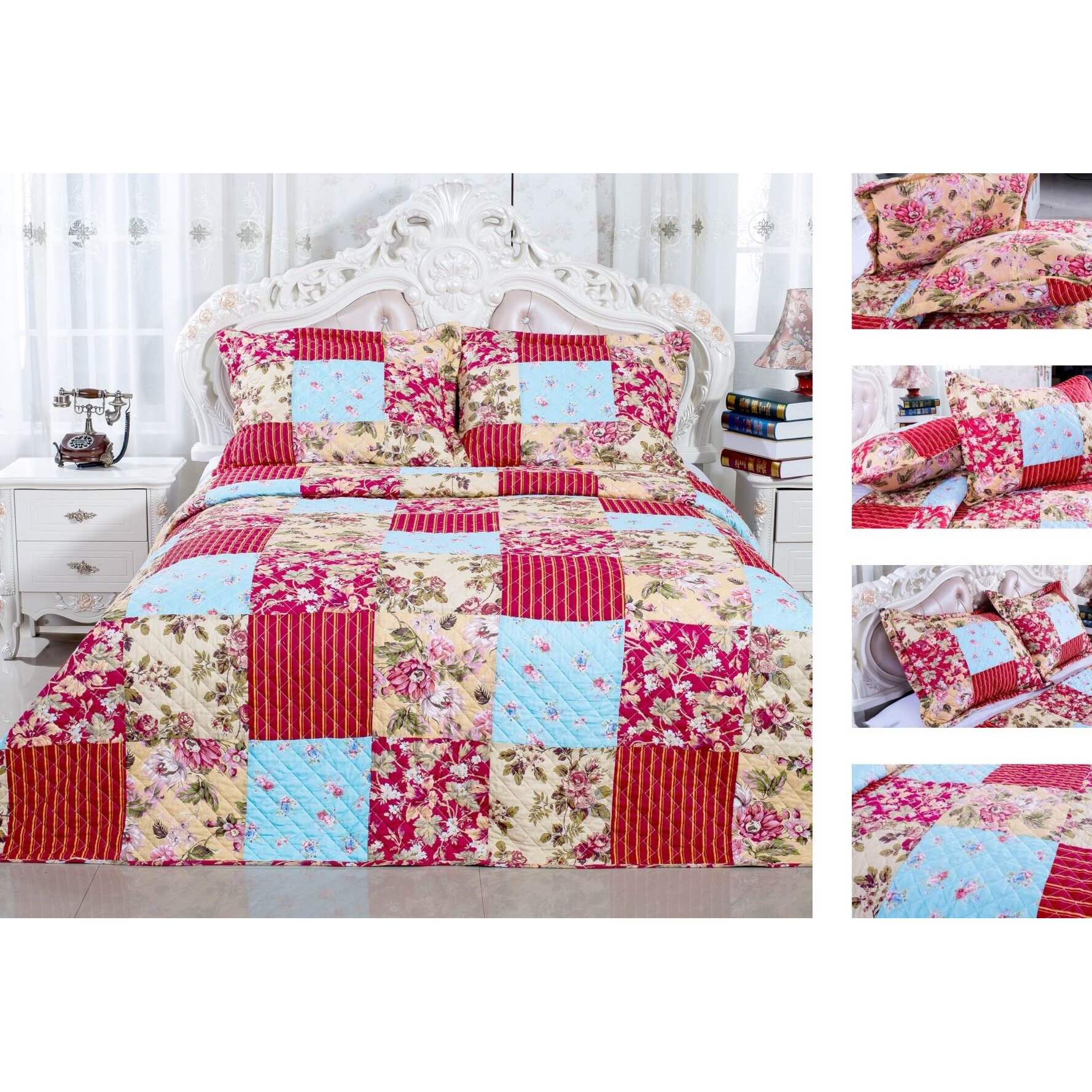 Jcp Bedroom Furniture Jcp Hometex Inc English Roses Quilt Set Wayfair Ca