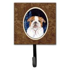 Starry Night English Bulldog Leash Holder and Key Hook by Caroline's Treasures