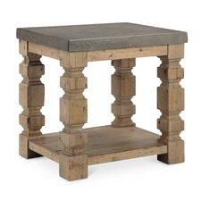 Avis Rectangle Concrete/Wood End Table by Laurel Foundry Modern Farmhouse