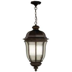 Oakhill Peruvian Bronze 3 Light Outdoor Hanging Lantern