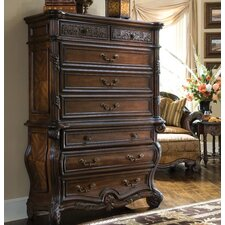 Essex Manor Lingerie Chest in Deep English Tea by Michael Amini (AICO)
