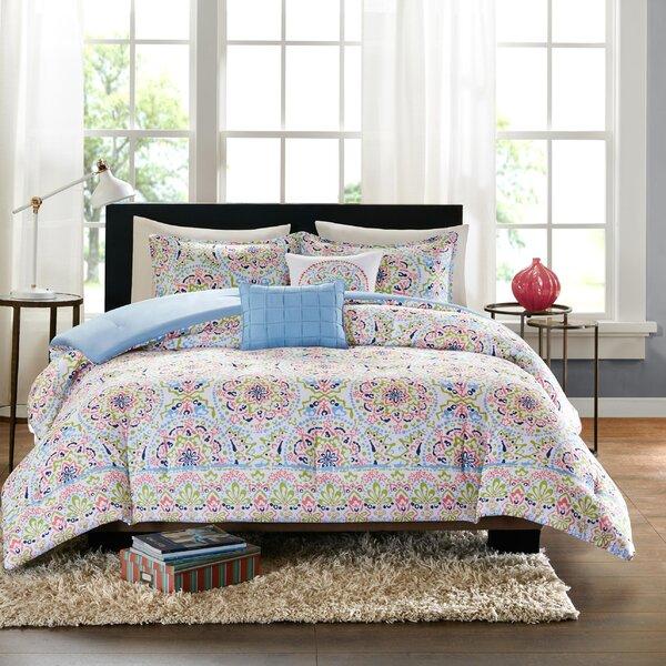 intelligent design zoe comforter set & reviews   wayfair