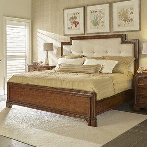tilden upholstered panel bed - Standard Metal Bed Frame