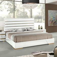 Marley Upholstered Panel Bed by Wade Logan