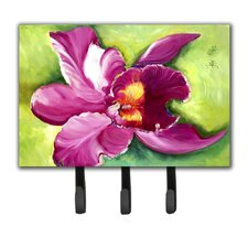 Orchid Key Holder by Caroline's Treasures