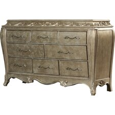 Holmes 8 Drawer Dresser by House of Hampton