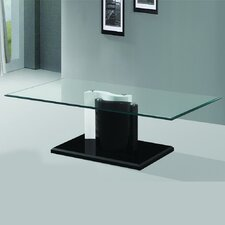 The Kernel Tempered Glass Coffee Table by Fab Glass and Mirror