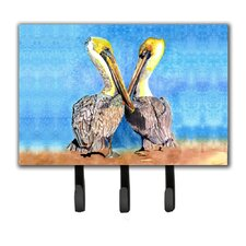 Pelican Leash Holder and Key Hook by Caroline's Treasures