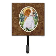 Welsh Springer Spaniel Leash Holder and Wall Hook by Caroline's Treasures