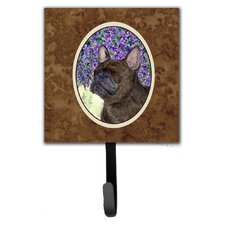 French Bulldog Leash Holder and Wall Hook by Caroline's Treasures