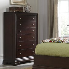 Newport 6 Drawer Chest by Cresent Furniture